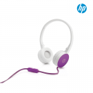 Diadema HP H2800 Blanco Cable violeta 3.5