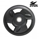 Disco encauchetado 15kg ZIVA Negro