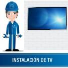 "Instalación de TV superior a 58"" sin base"