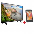 Kombo Tv 40' 101 cm LED Full HD AOC + Celular E41