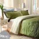 Conforter K-LINE Queen Tie Die Verde Algodón 100%