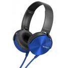 Audifonos SONY Overhead MDR-XB450AP Azul